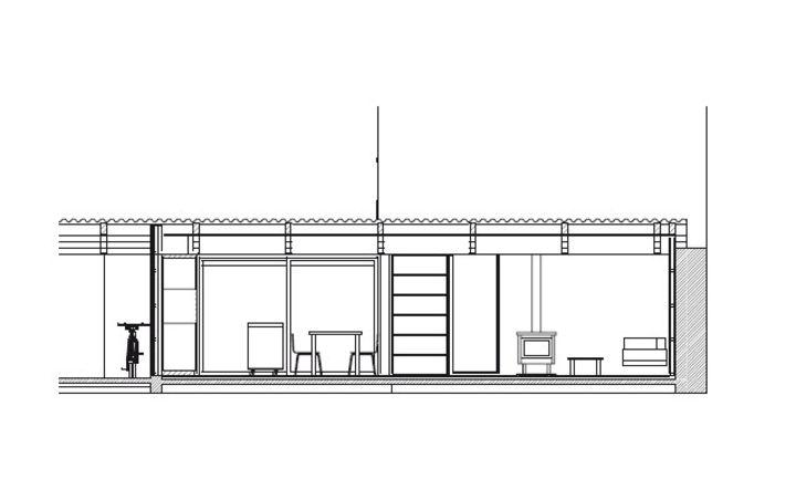 Première œuvre 2007 nominé benoit chailleux extension dune maison