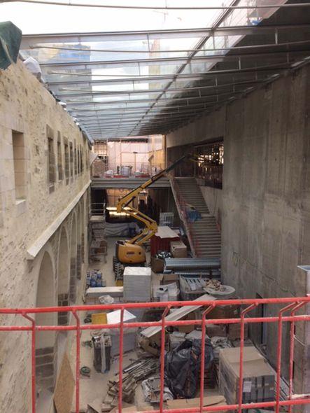 Le centre des congr s de rennes jean guervilly architecte - Office des oeuvres universitaires pour le centre ...