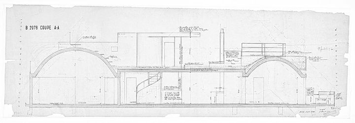 plan appartement le corbusier