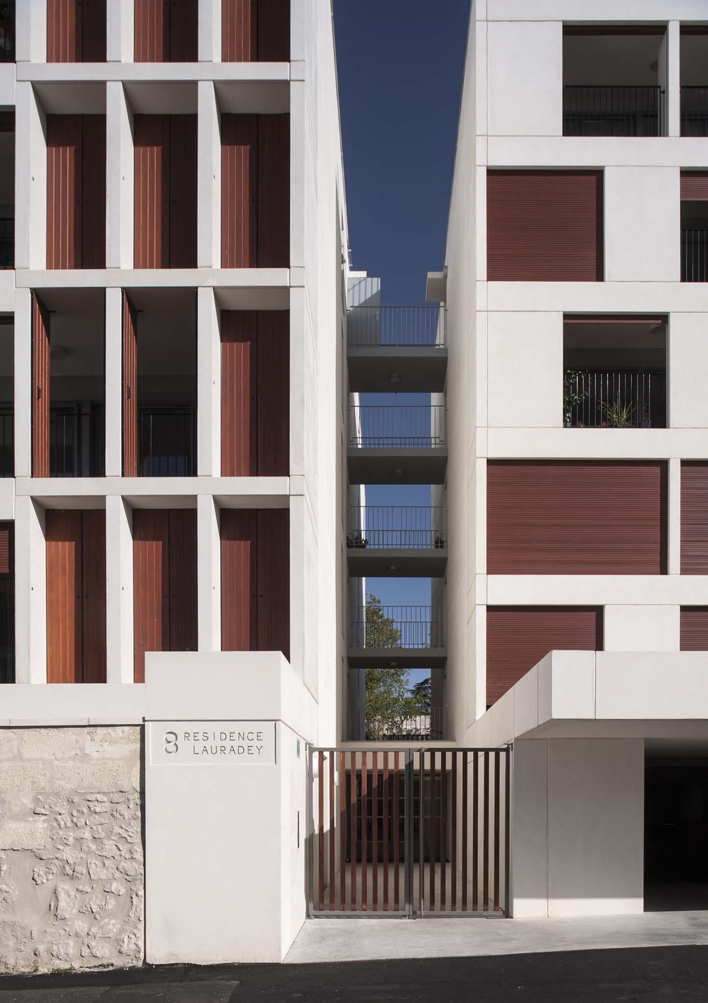 56 logements collectifs leibar seigneurin architectes for Bordeaux logement