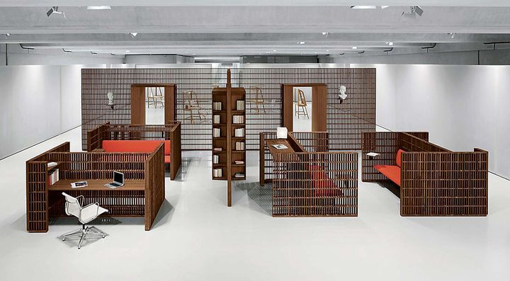 hatch ligne compl te d 39 espace de travail par unifor. Black Bedroom Furniture Sets. Home Design Ideas