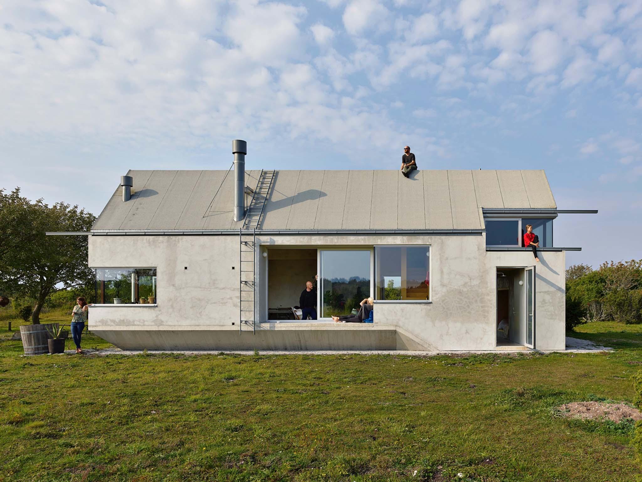 La Maison De La Suede la maison-paysage consacrée par le kasper salin 2018