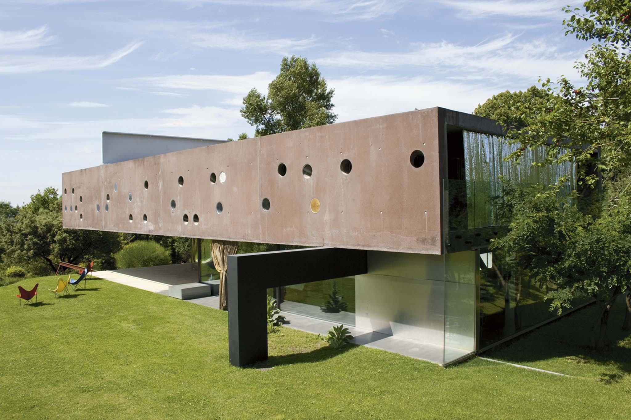 Querre d 39 argent 1998 laur at rem koolhaas maison priv e for Maison de l architecture bordeaux