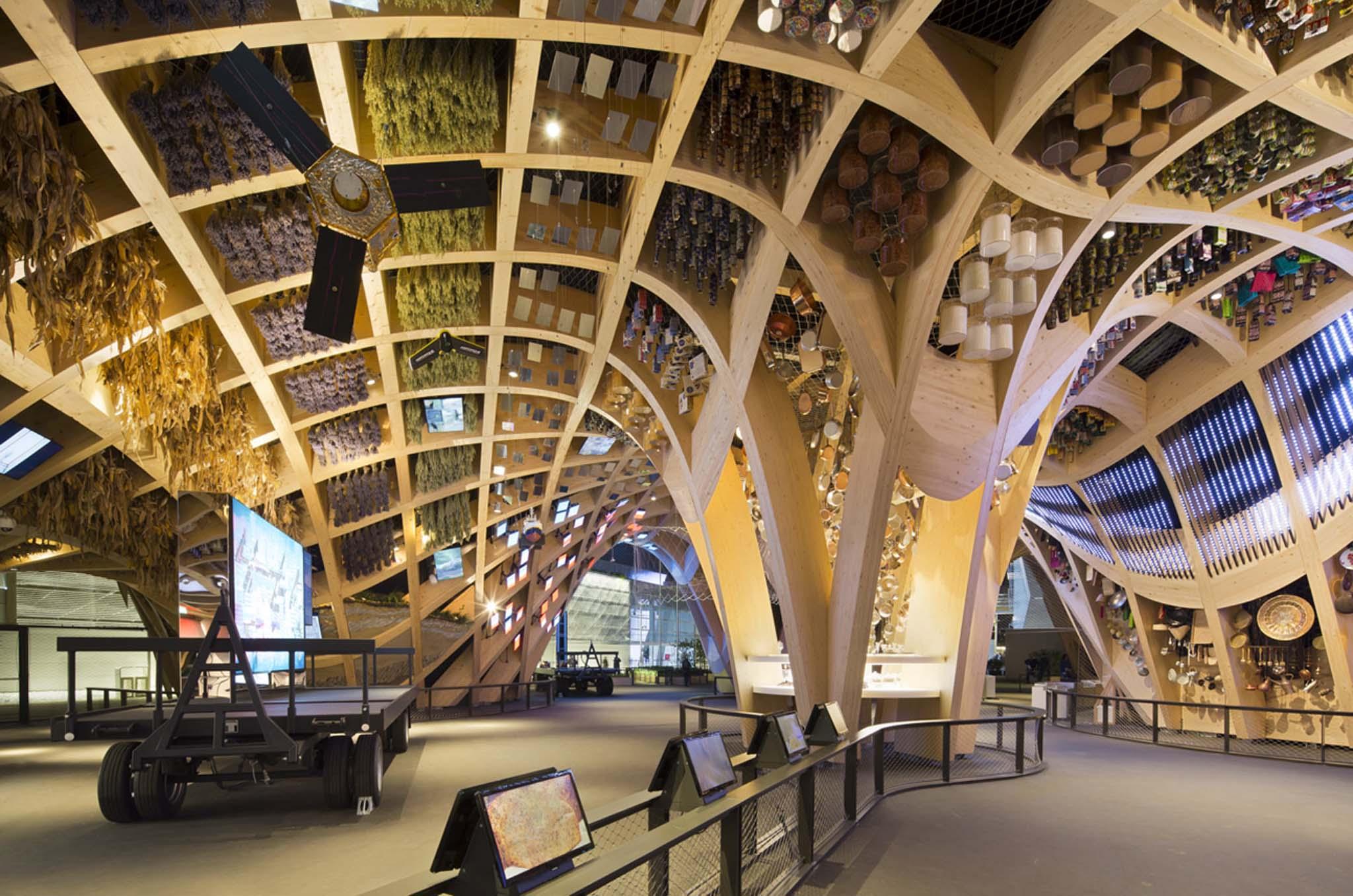 Stands Expo Universelle Milan : Exposition universelle de milan le pavillon la france