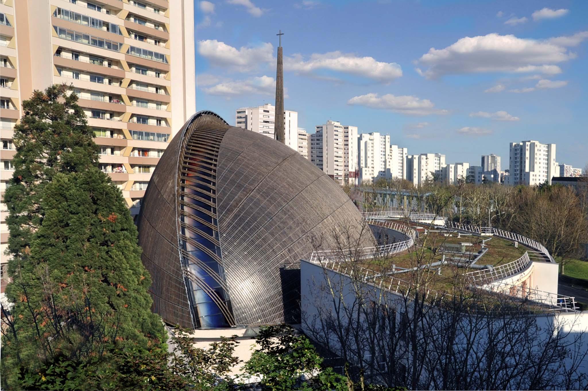 Architecture studio requalification de la cath drale de for Maison de l architecture bordeaux