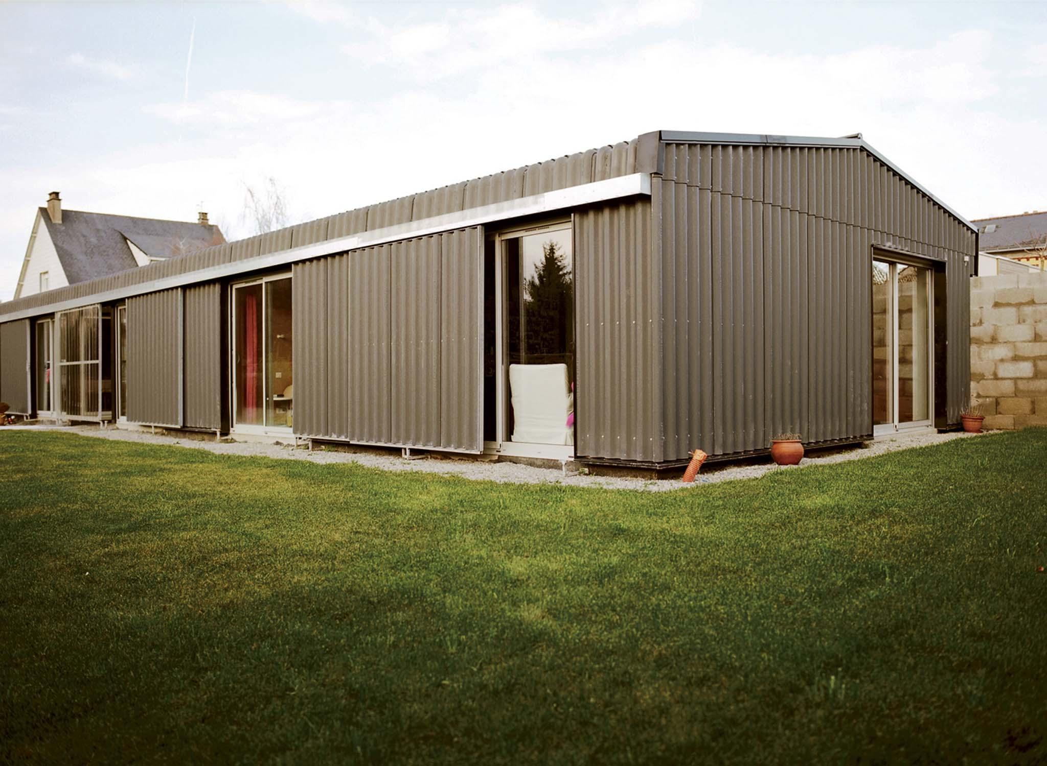 maison individuelle boris nauleau nantes. Black Bedroom Furniture Sets. Home Design Ideas