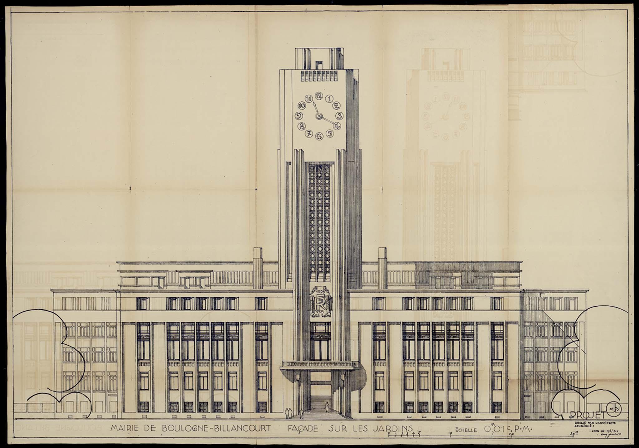 échelle N Hôtel de ville