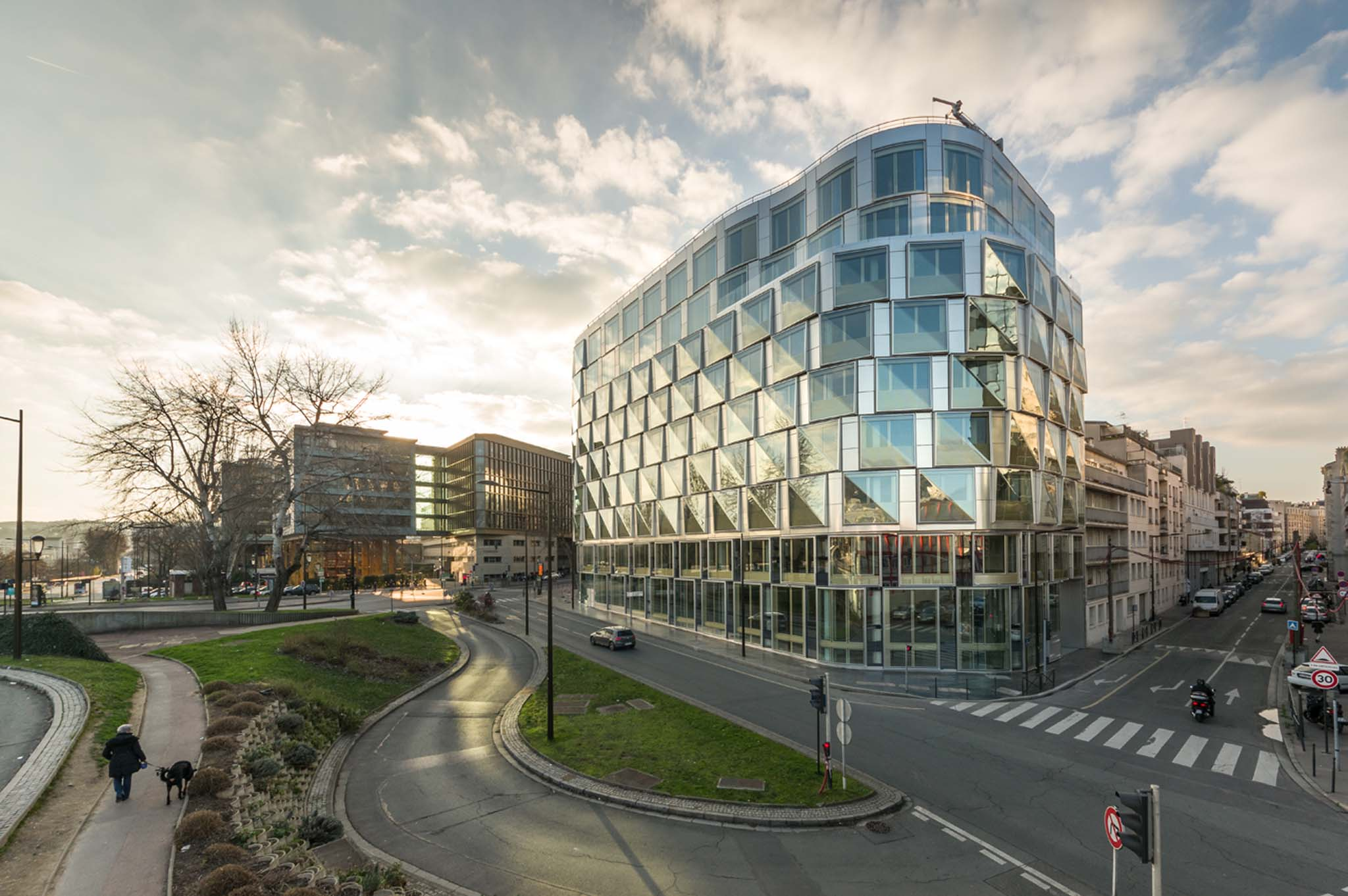 R habilitation d 39 un immeuble de bureaux brenac - Centre de formation gardien d immeuble ...