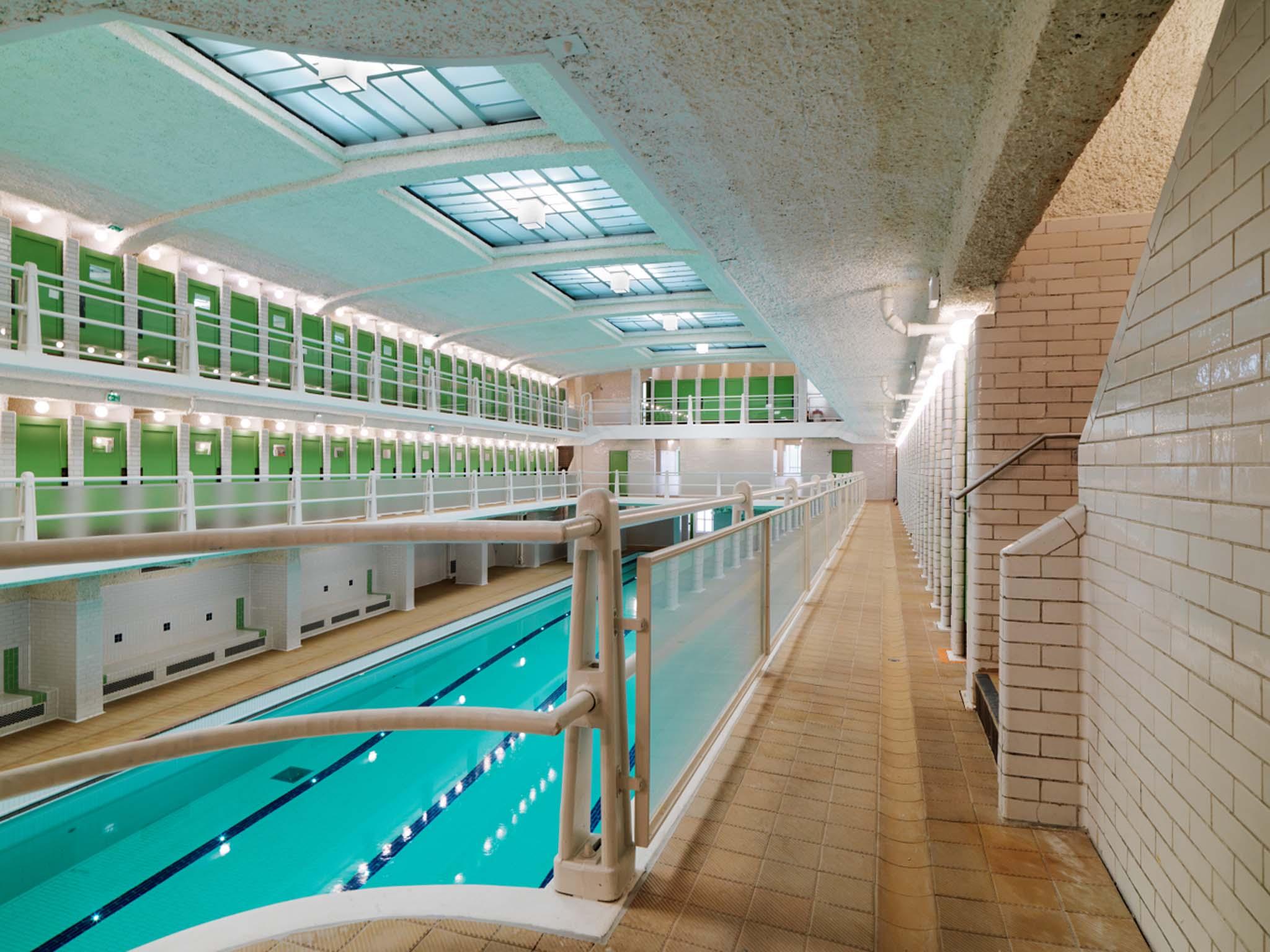La piscine des amiraux d henri sauvage paris restaur e for Piscine des amiraux