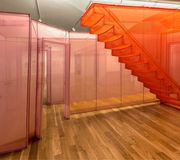 Installation shot of Do Ho Suh: Almost Home, Smithsonian American Art Museum, 2018,courtesy of the Smithsonian American Art Museum