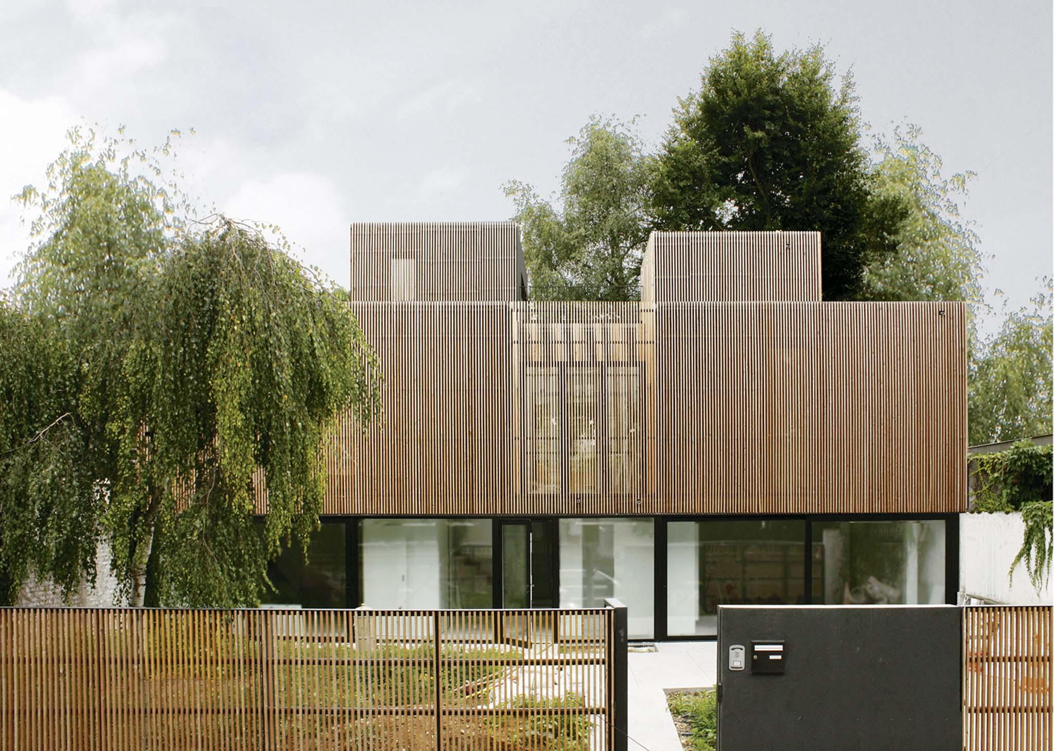 A samuel delmas maison individuelle for Delmas architecte
