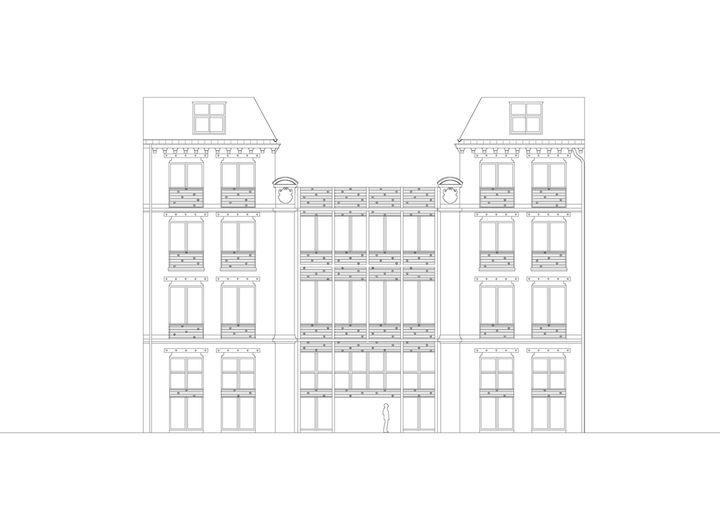 Elevation D Un Plan Archi : Parc architectes immeuble de bureaux paris élévation