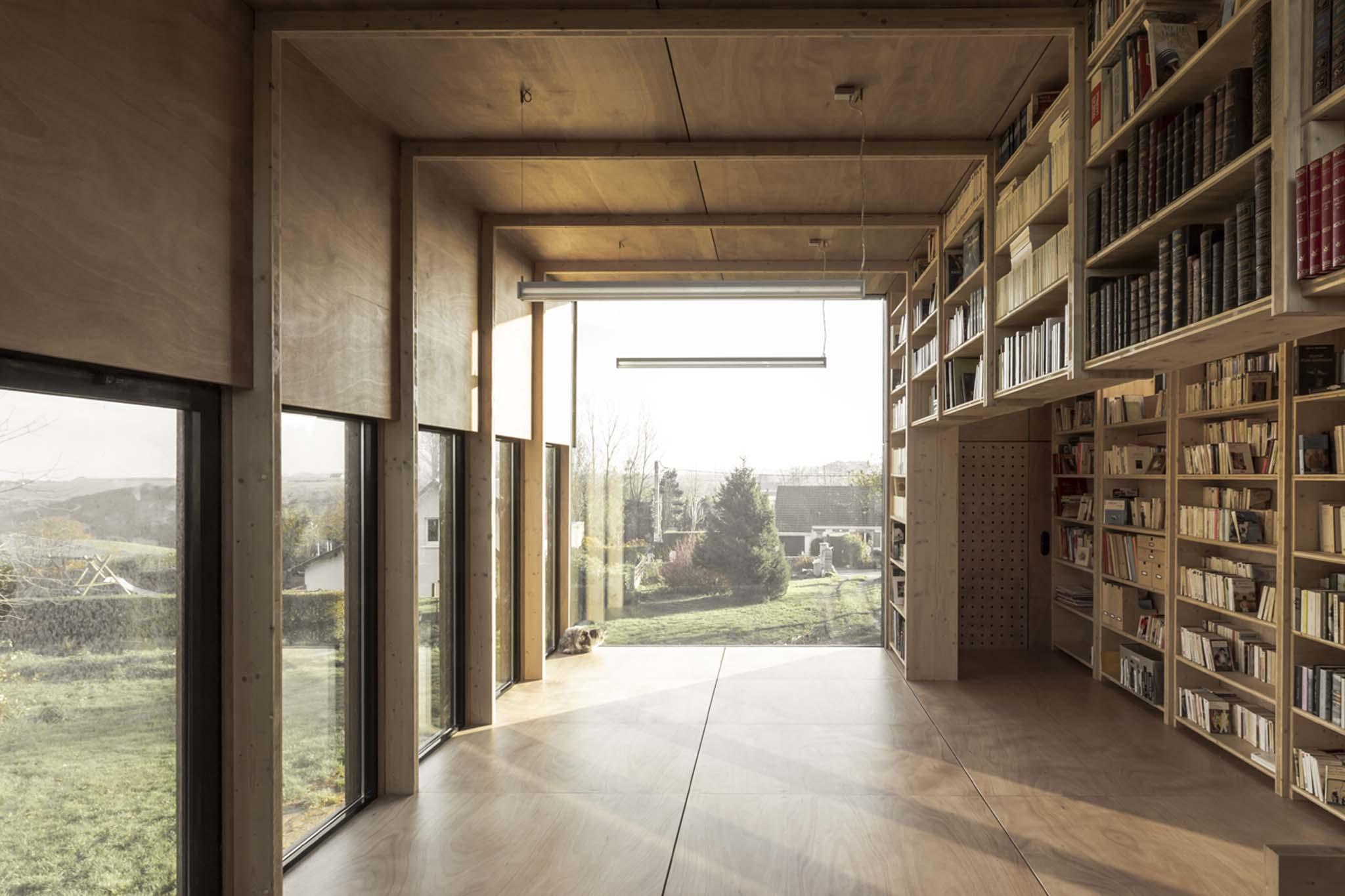 antonin ziegler extension de biblioth que nomin e au prix de la premi re uvre 2015. Black Bedroom Furniture Sets. Home Design Ideas