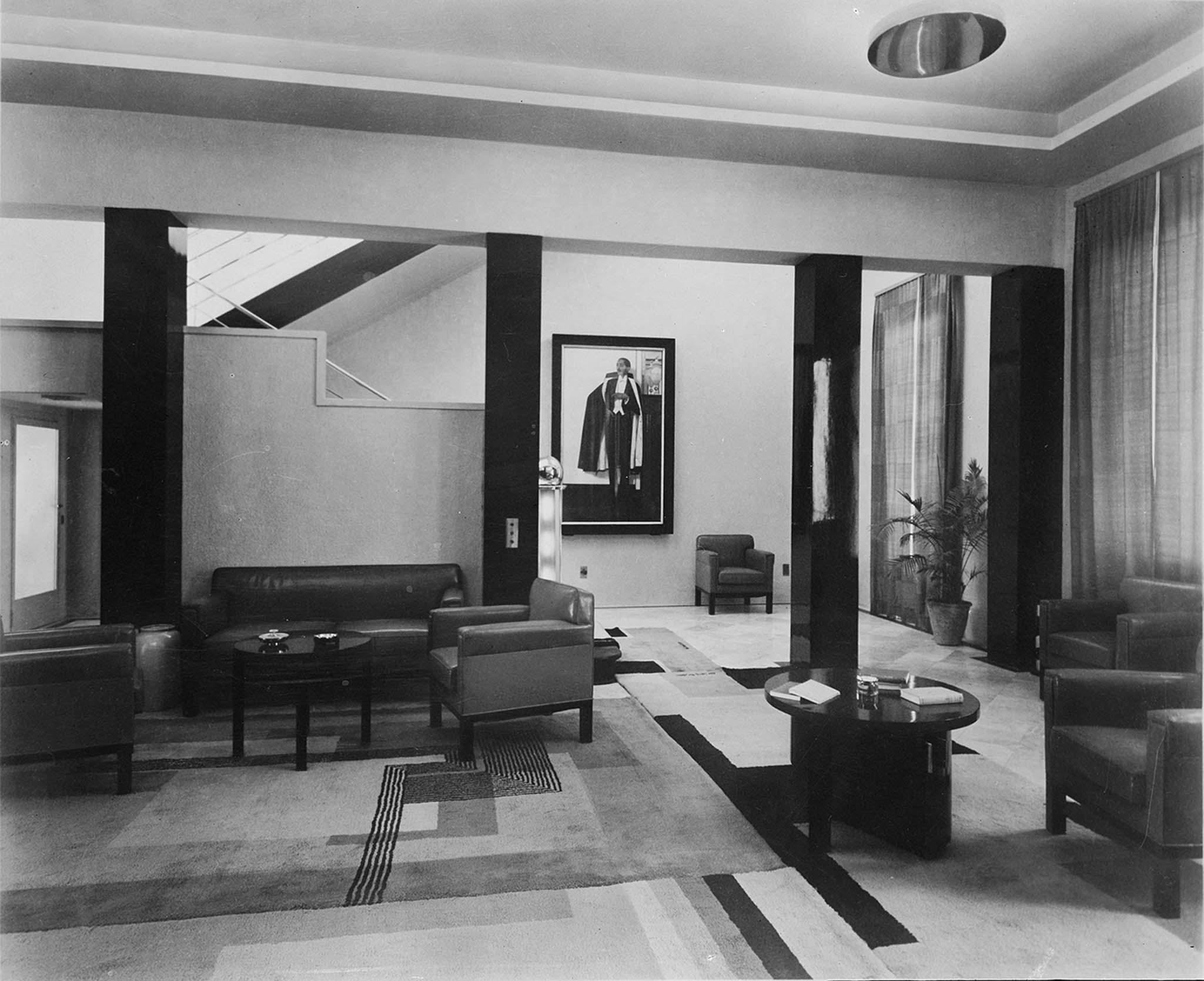 Hall D Entrée Moderne moderne maharajah, un mécène des années 1930 ». eckart