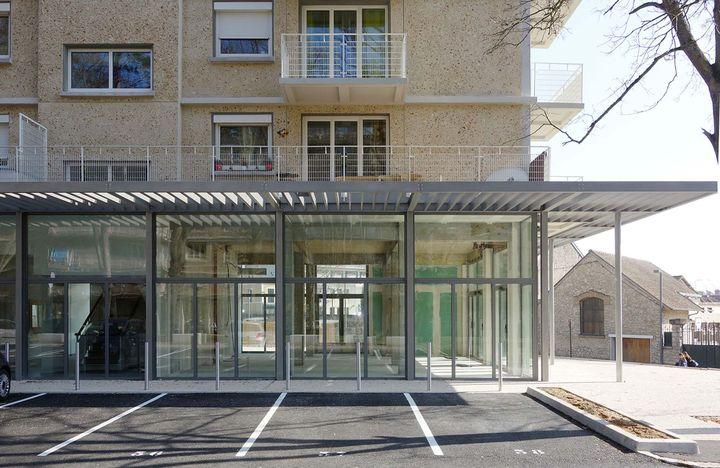 Eliet lehmann et patrice lutier a003 architectes for Architecte fontainebleau