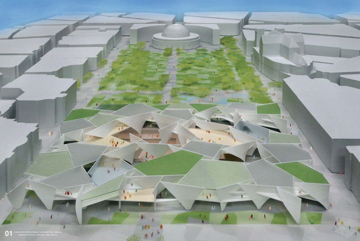 Toyo ito et extra muros architecture concours pour le for Architecture concours