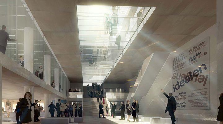 le centre des congr s de rennes jean guervilly architecte. Black Bedroom Furniture Sets. Home Design Ideas