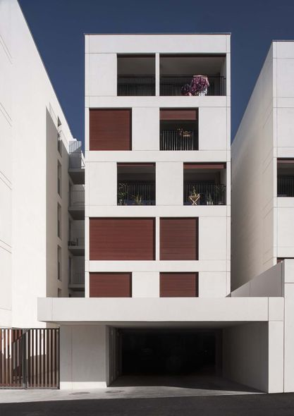 Leibar seigneurin 56 logements collectifs bordeaux for Bordeaux logement