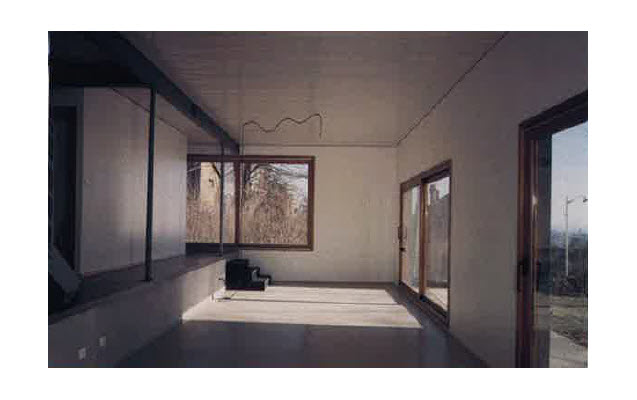 vue int rieure maison christian vincent nancy prix de la premi re oeuvre 2003 nomin. Black Bedroom Furniture Sets. Home Design Ideas