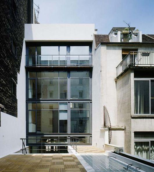 r novation et extension d 39 un h tel particulier paris nathalie r gnier kagan architecte. Black Bedroom Furniture Sets. Home Design Ideas