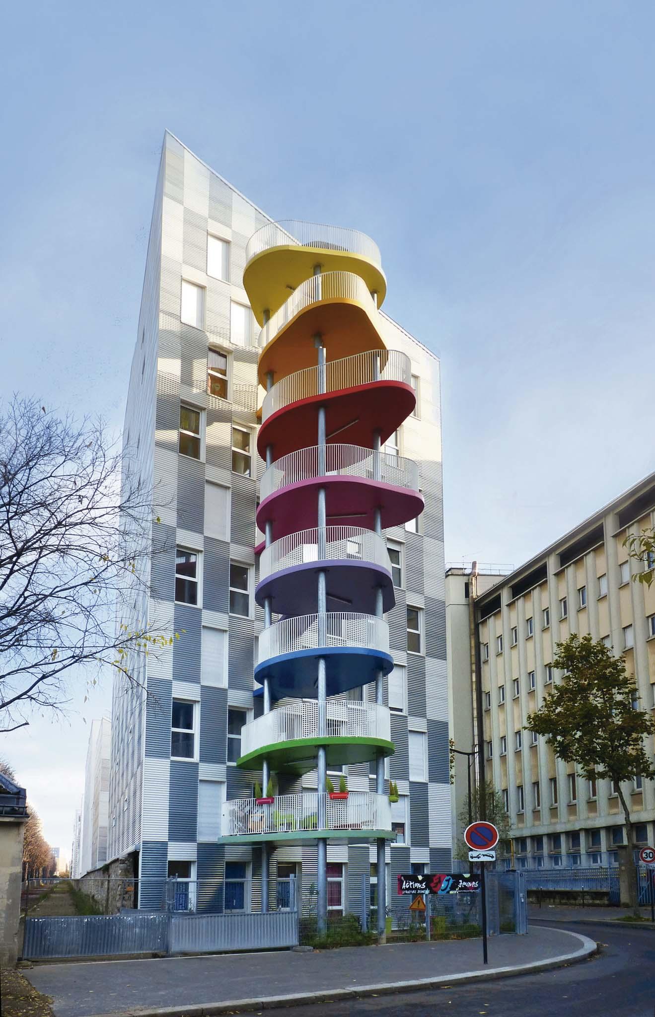 Hondelatte laporte architectes 21 logements sociaux for Architecte lattes