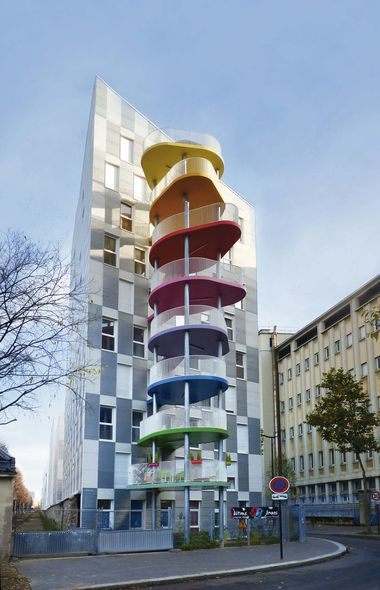 hondelatte laporte architectes 21 logements sociaux. Black Bedroom Furniture Sets. Home Design Ideas