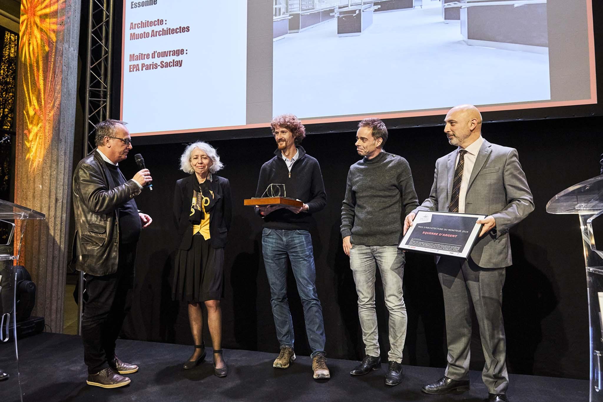 La remise de l 39 equerre d 39 argent 2016 par l 39 architecte for Ordre d architectes