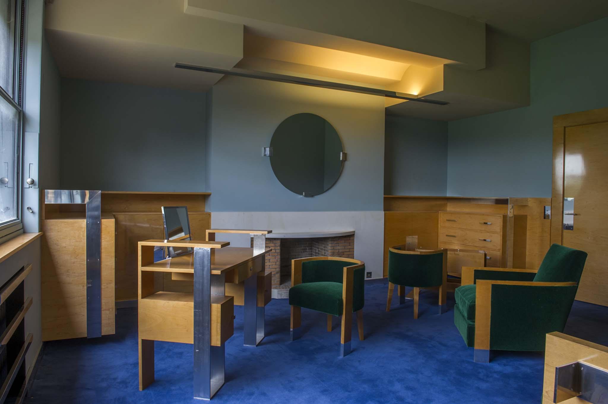 villa cavrois boudoir de madame cavrois. Black Bedroom Furniture Sets. Home Design Ideas