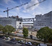 Le chantier de la Meca, par Big et Freaks architectes, à Bordeaux