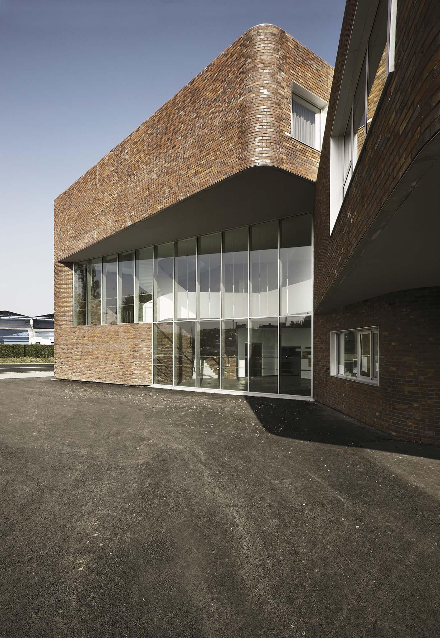 Architectes Lille Équerre d'argent 2010 / nominÉ - tank architectes - collÈge claude