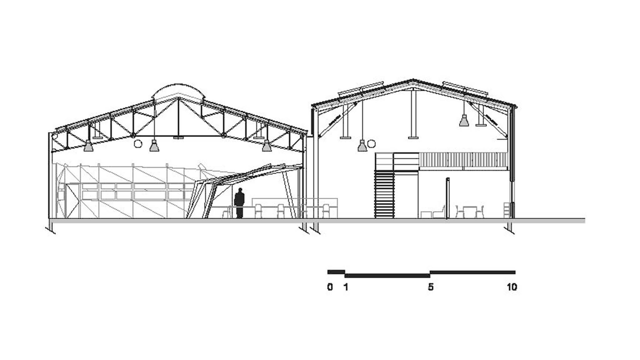 Gardera d fondation surfrider biarritz for Coupe verticale d un batiment