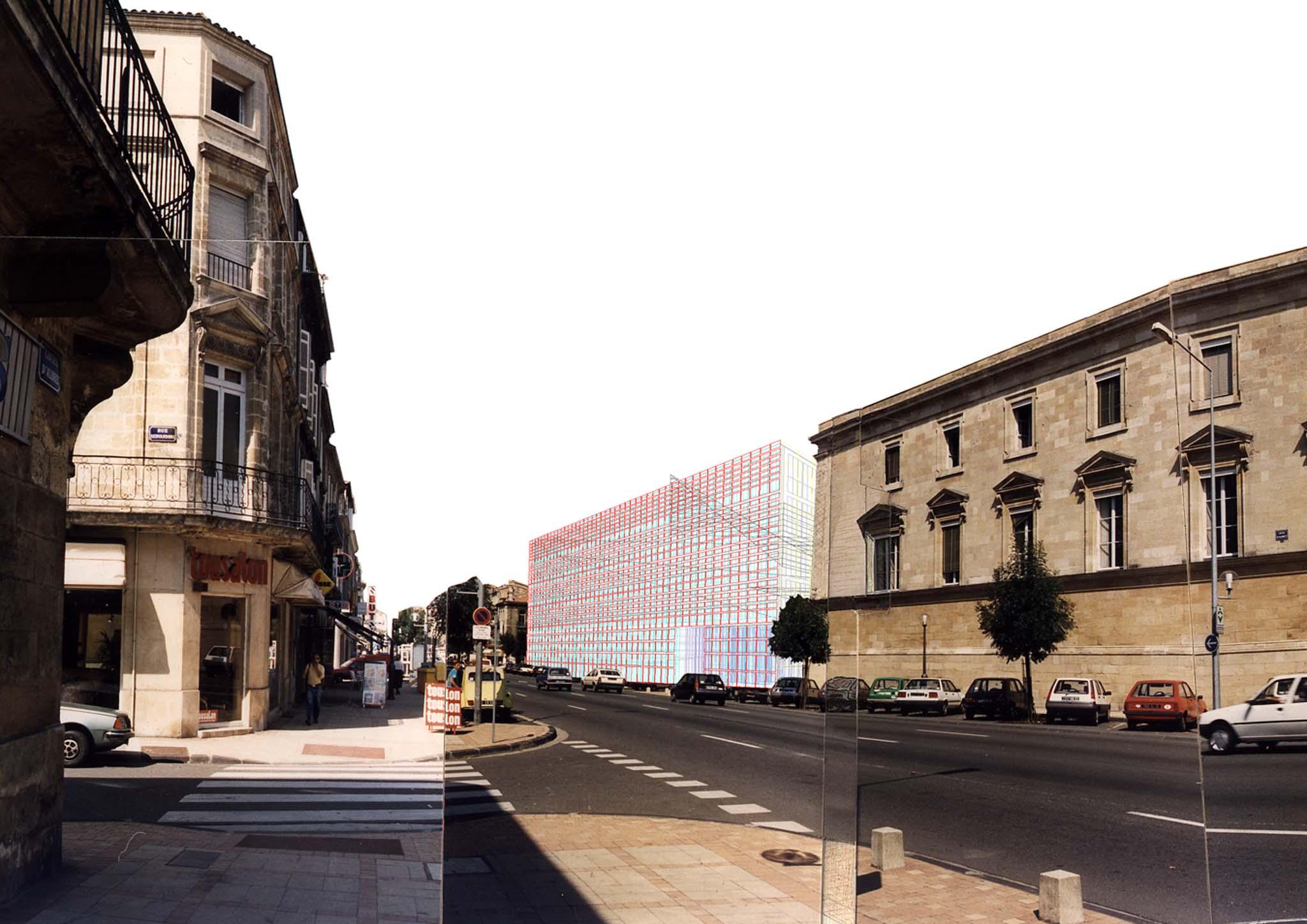 Javques hondelatte architecte extensions du tribunal de for Architecte lattes