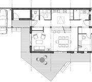 Plan du rez de chauss e maison jean thibaut bernard saint philbert de gra - Francois brugel architecte ...