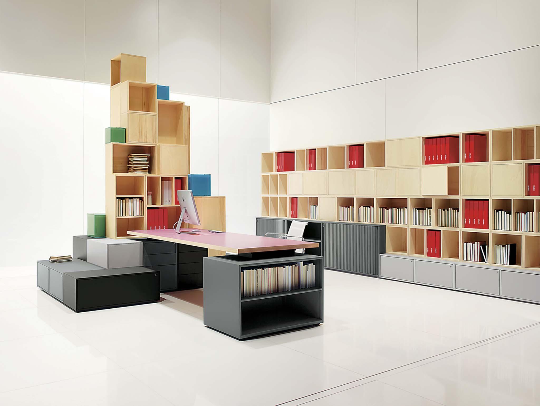 mobilier modulaire cases unifor. Black Bedroom Furniture Sets. Home Design Ideas