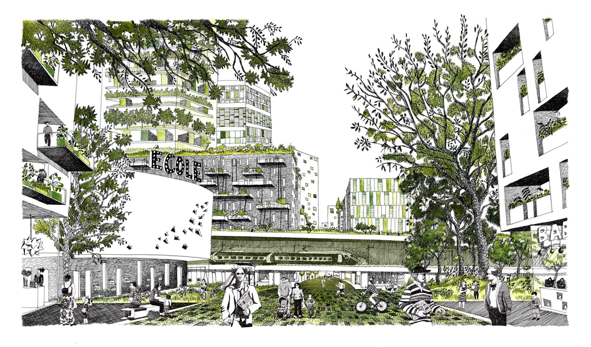 Diane berg illustratrice architecte for Nouvel architecte