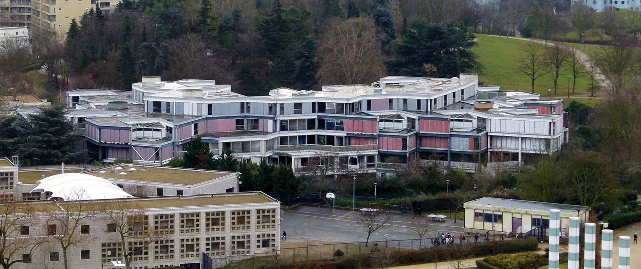 Patrimoine l cole d architecture de nanterre par for Ecole d architecture