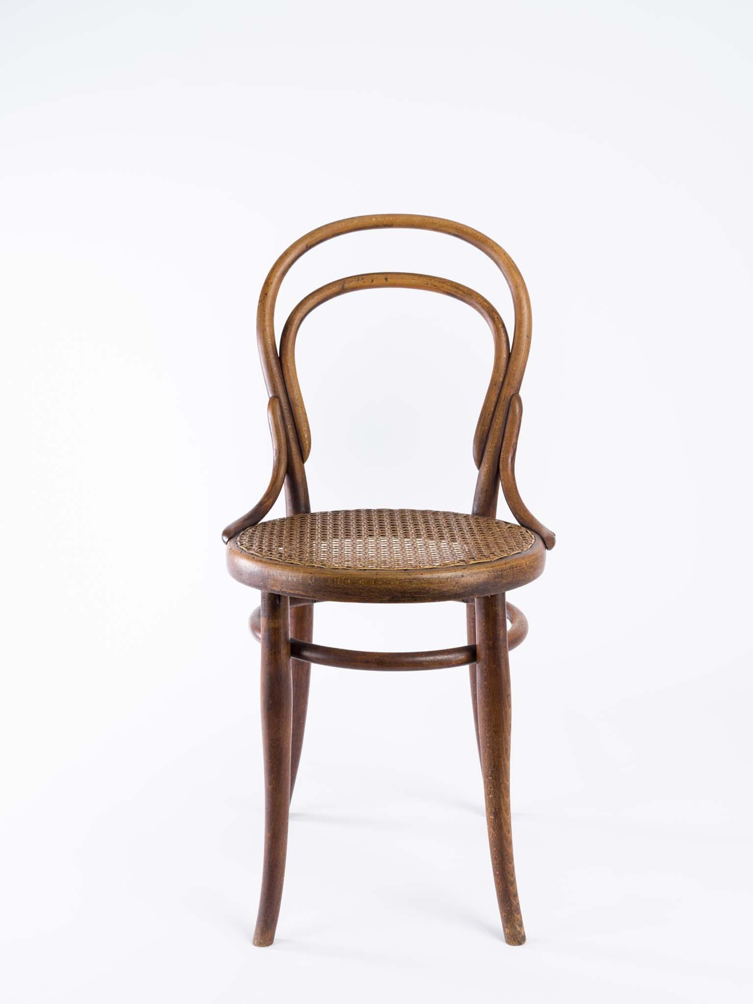 chaise n 14 thonet collection du mamc de saint etienne m tropole. Black Bedroom Furniture Sets. Home Design Ideas