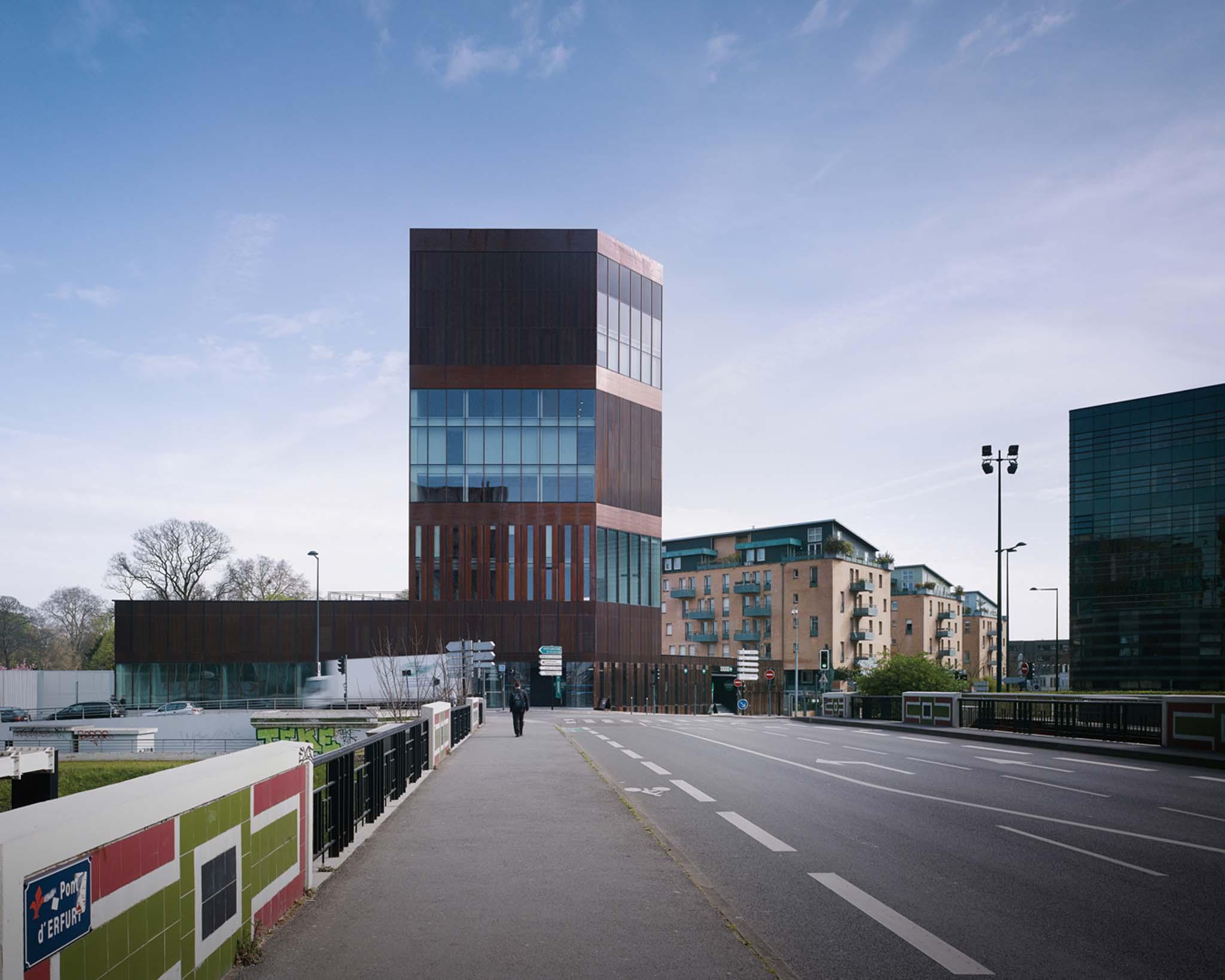 Trois fran ais en lice pour les european copper in architecture awards - Bureau de change a lille ...