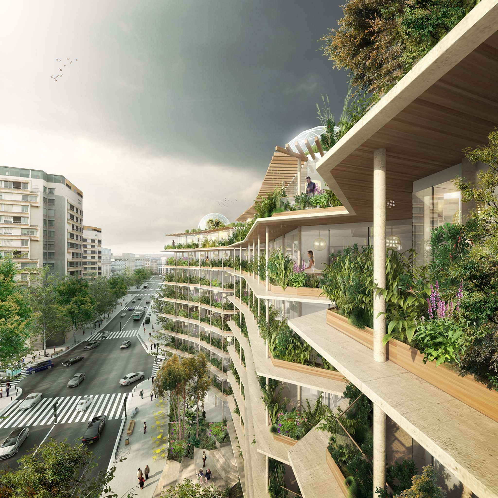 R inventer paris pas un radis mais des potagers au kilom tre for Architecture de jardin