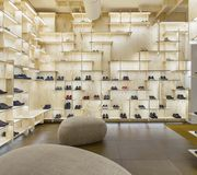Boutique Camper, Kengo Kuma & Associates, Milan