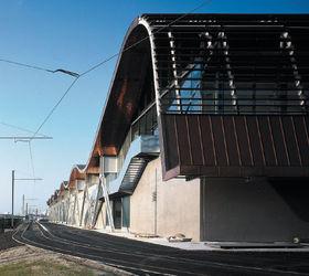 Prix d 39 architecture du moniteur 2003 b timents nomin s for Garage du tram villeurbanne