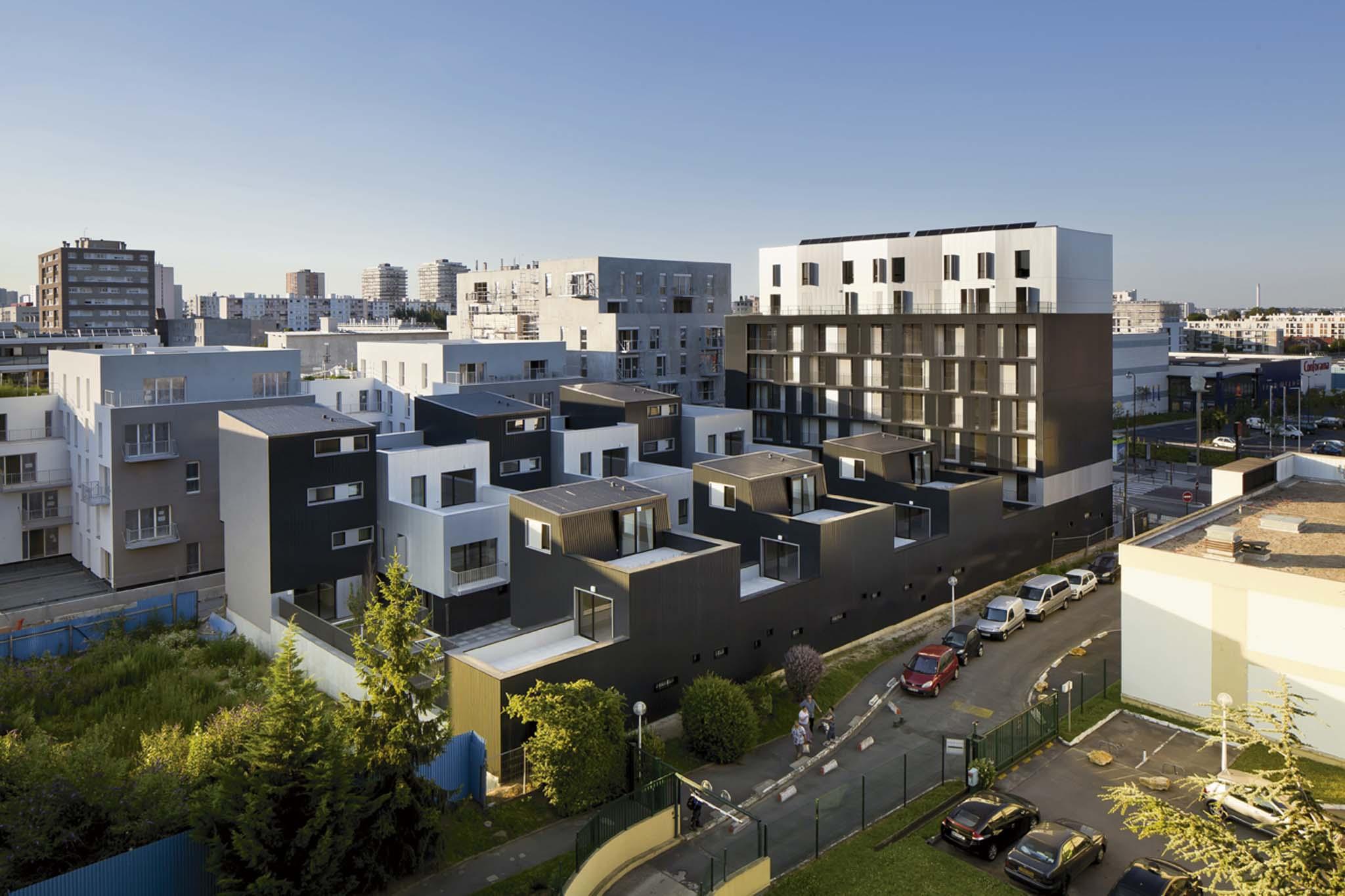 Ga tan le penhuel 48 logements sociaux - Piscine avec pente douce vitry sur seine ...