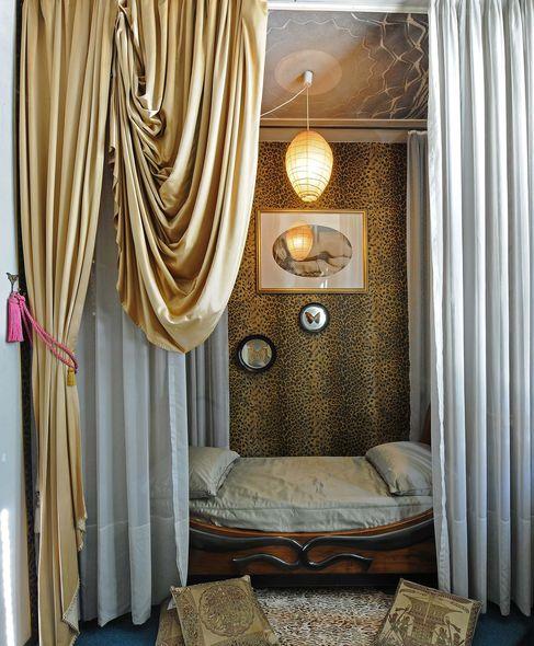 Casa mollino chambre aux papillons avec lit empire et nu for Institut culturel italien paris
